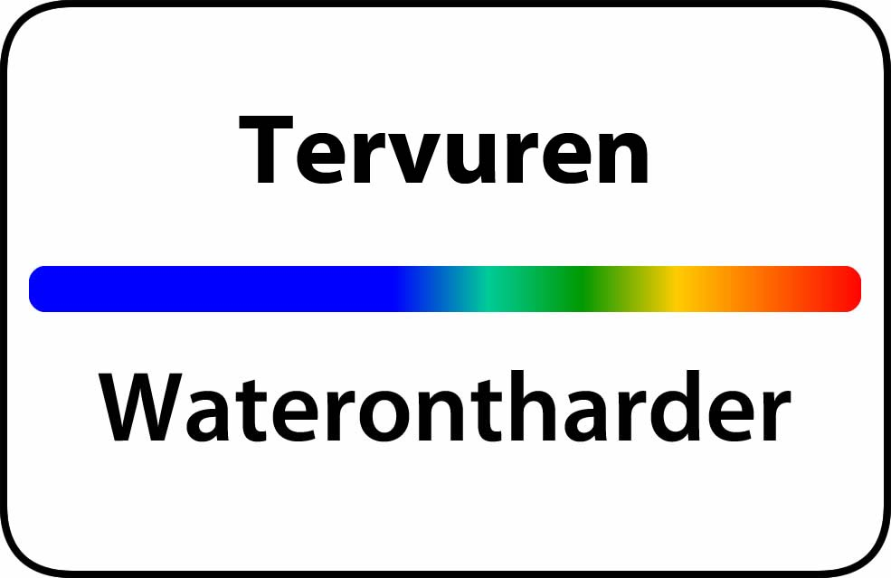 Waterontharder Tervuren