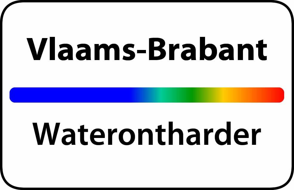 Waterontharder Vlaams-Brabant
