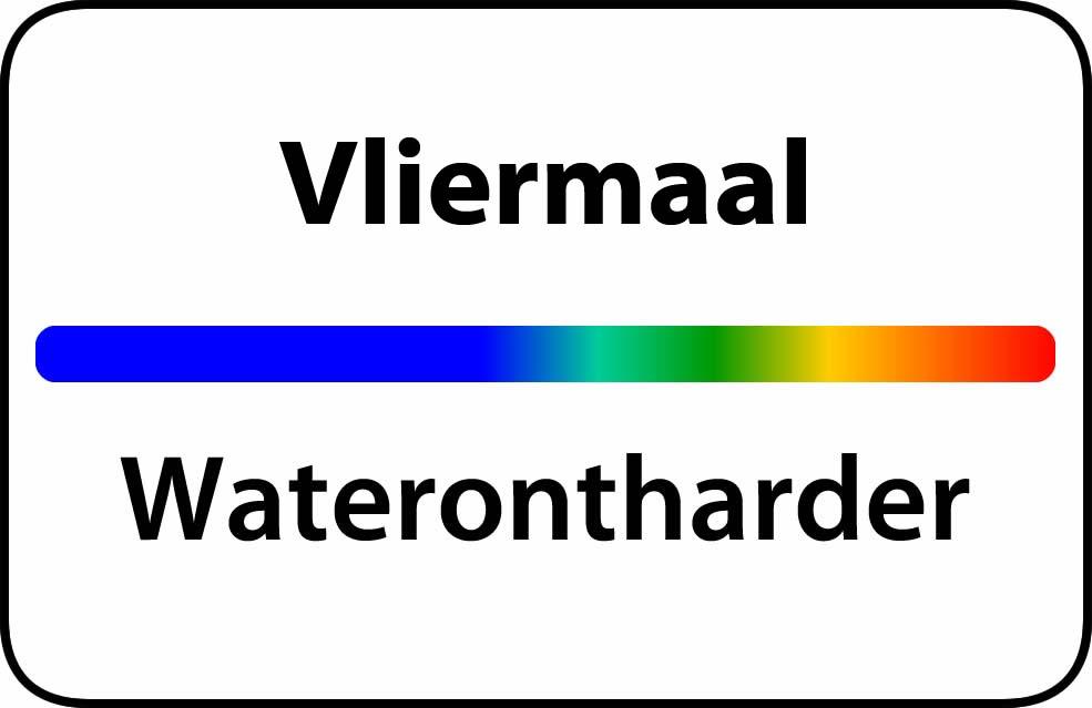 Waterontharder Vliermaal