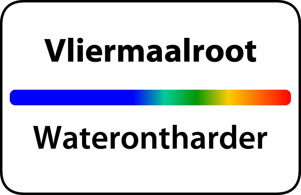 Waterontharder Vliermaalroot