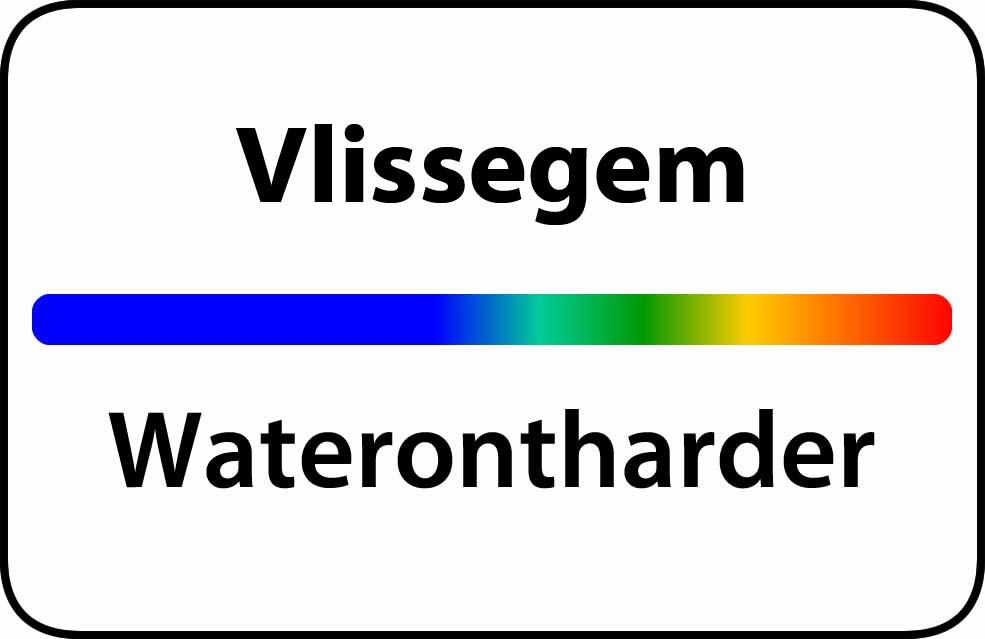 Waterontharder Vlissegem