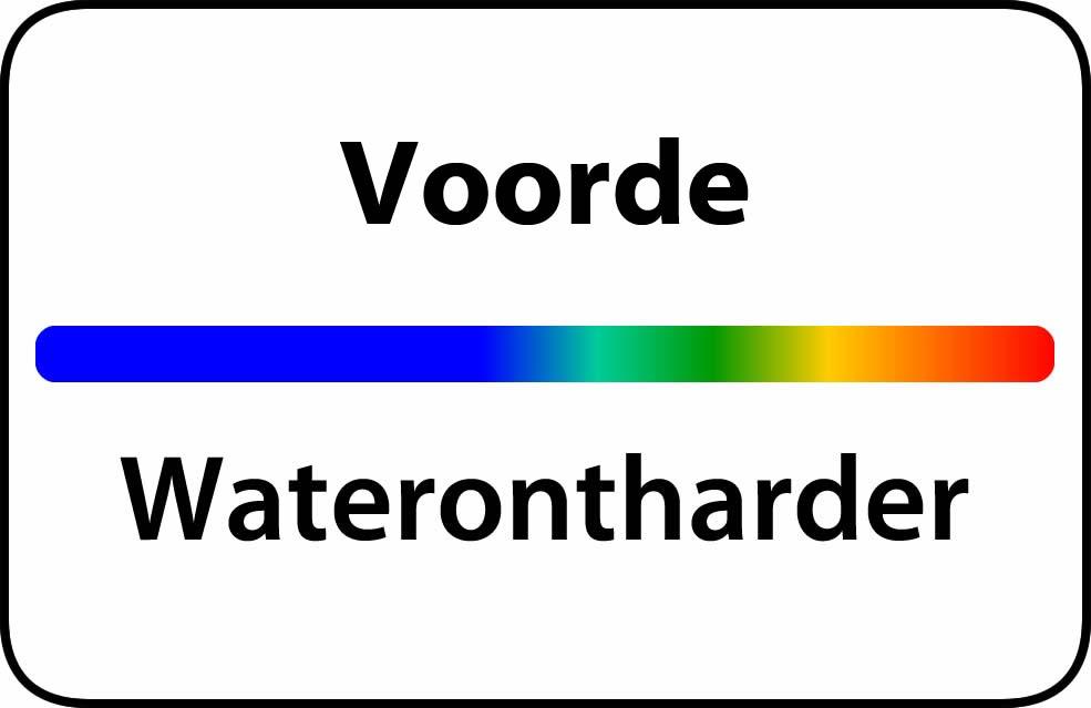Waterontharder Voorde