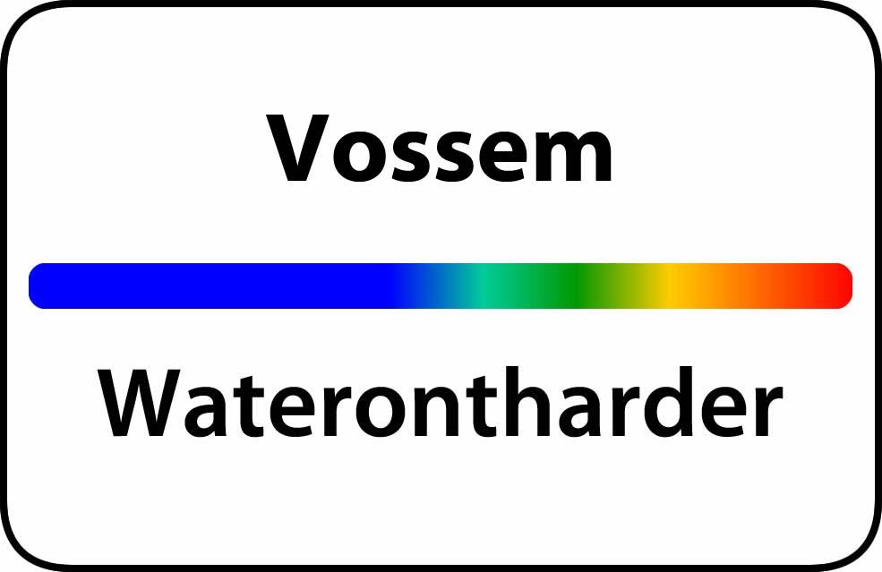 Waterontharder Vossem