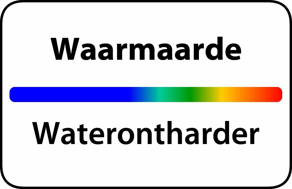 Waterontharder Waarmaarde