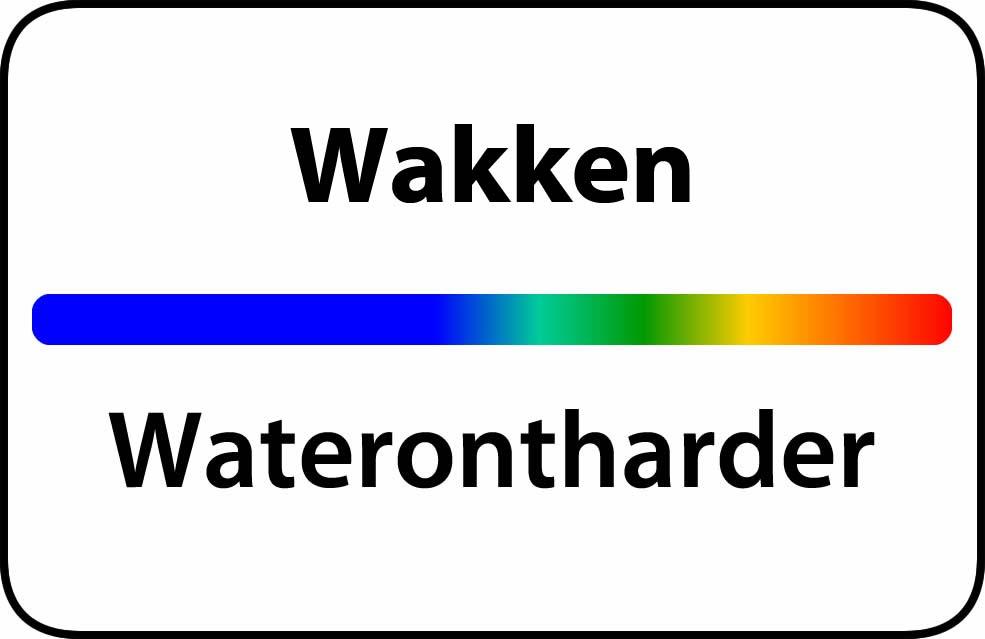Waterontharder Wakken