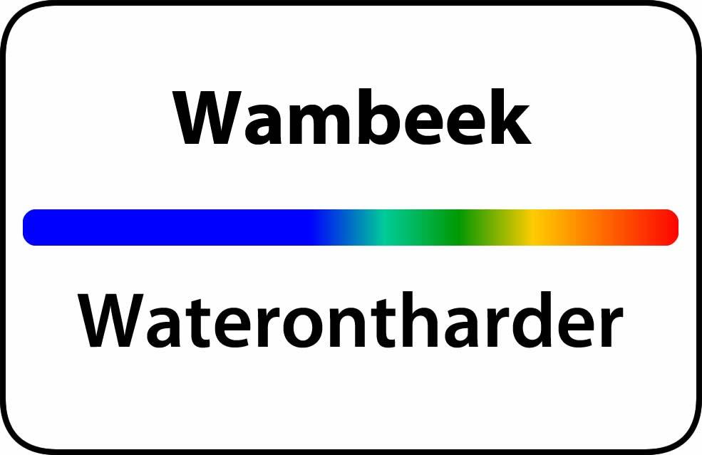 Waterontharder Wambeek