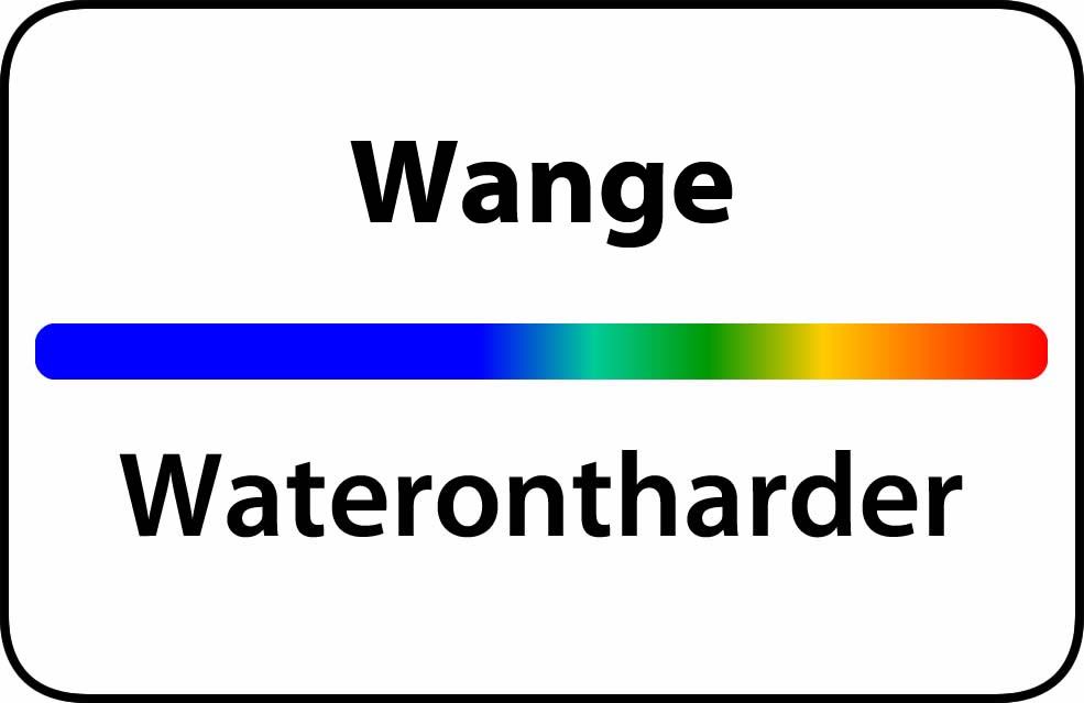 Waterontharder Wange