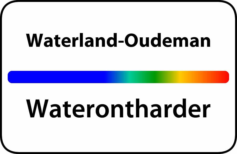 Waterontharder Waterland-Oudeman