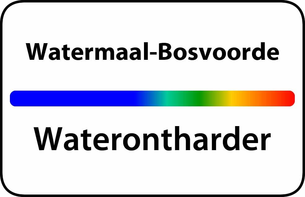 Waterontharder Watermaal-Bosvoorde
