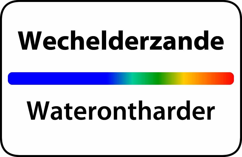 Waterontharder Wechelderzande