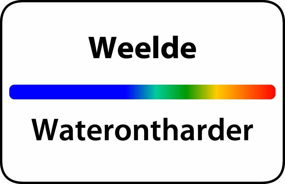 Waterontharder Weelde