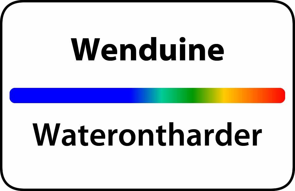 Waterontharder Wenduine