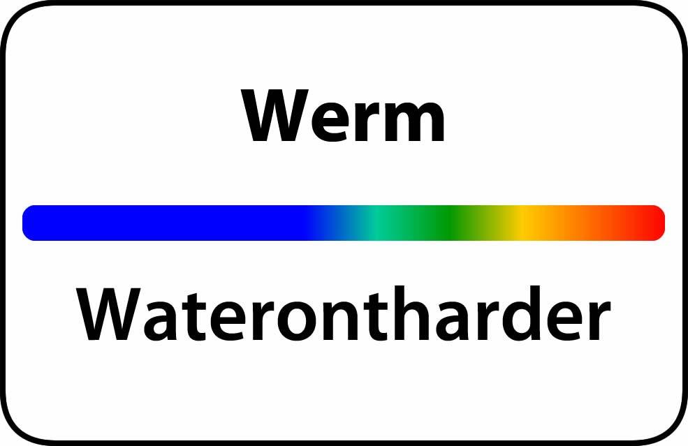 Waterontharder Werm