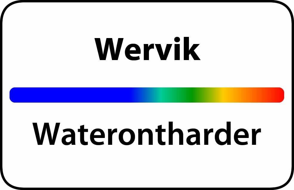 Waterontharder Wervik
