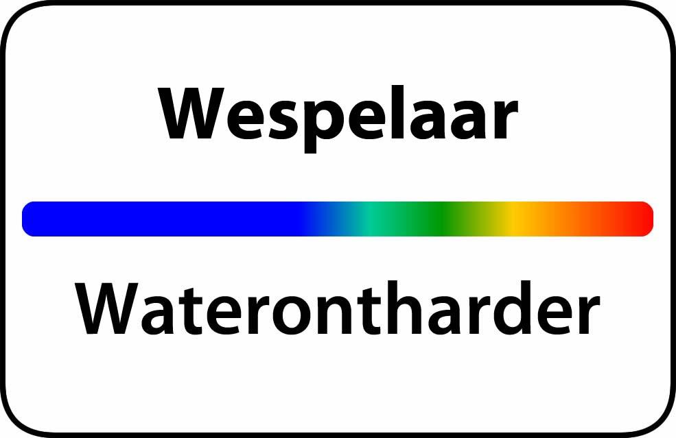 Waterontharder Wespelaar