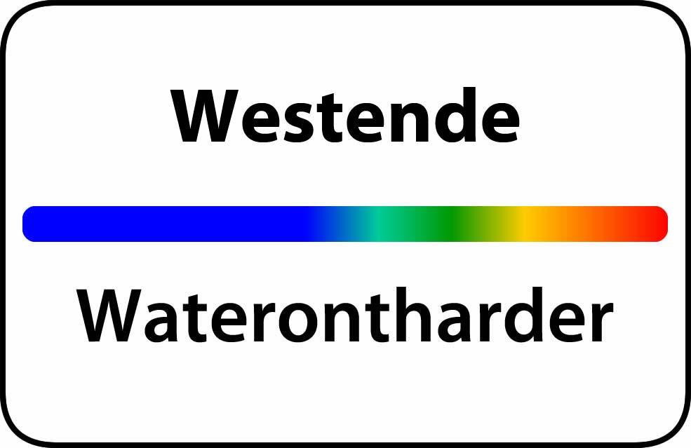 Waterontharder Westende