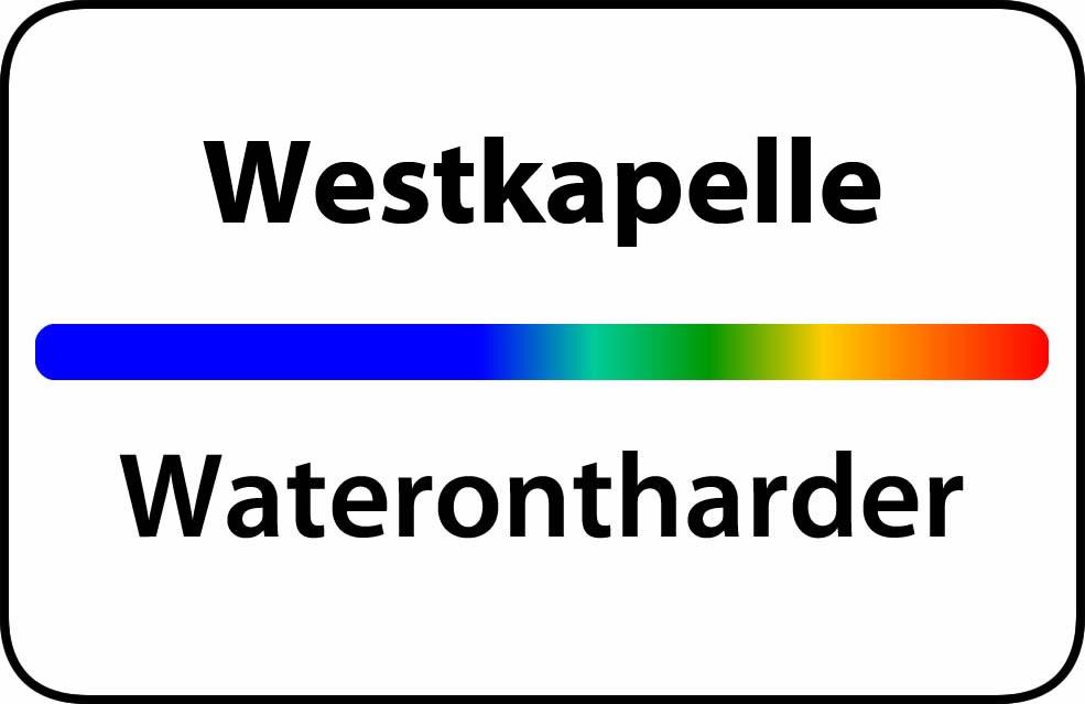 Waterontharder Westkapelle