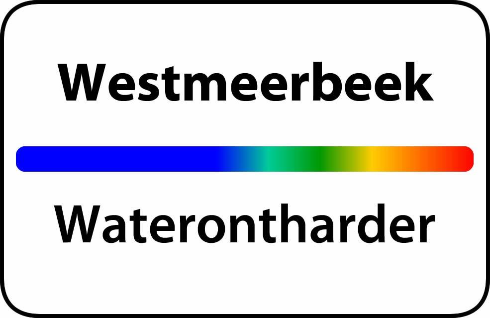Waterontharder Westmeerbeek
