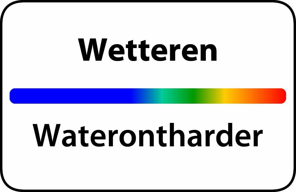Waterontharder Wetteren