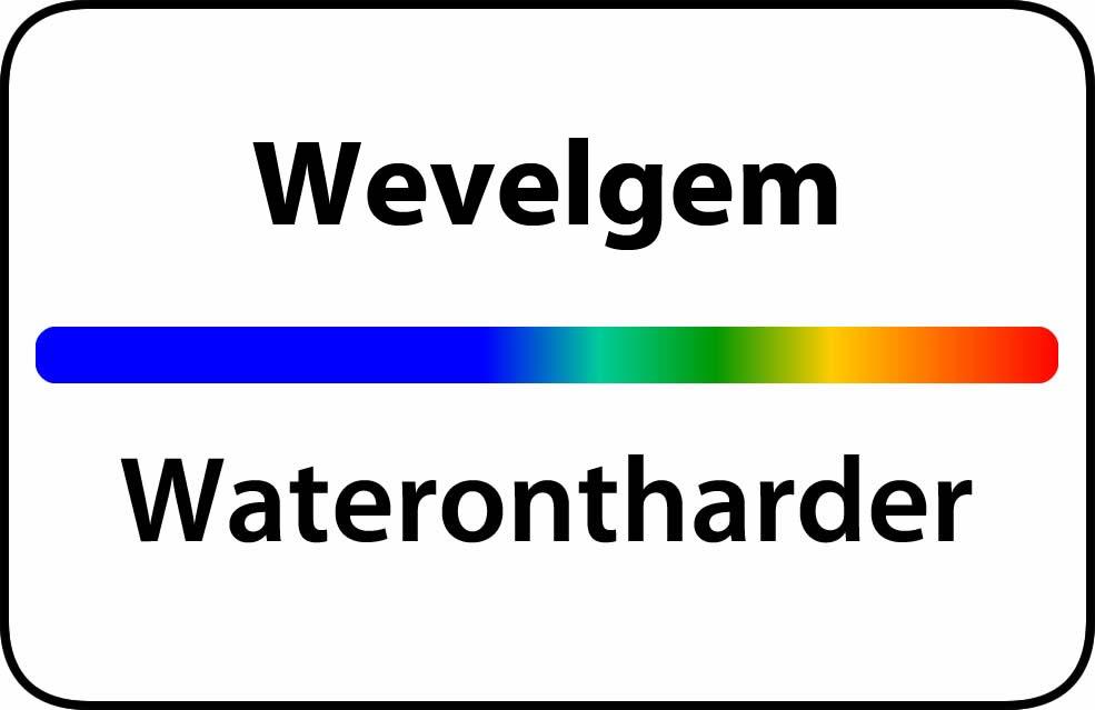 Waterontharder Wevelgem