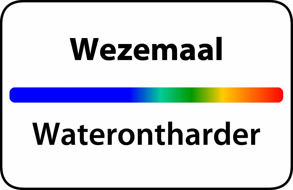 Waterontharder Wezemaal