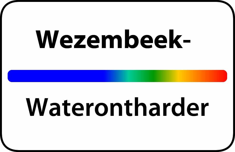 Waterontharder Wezembeek-Oppem