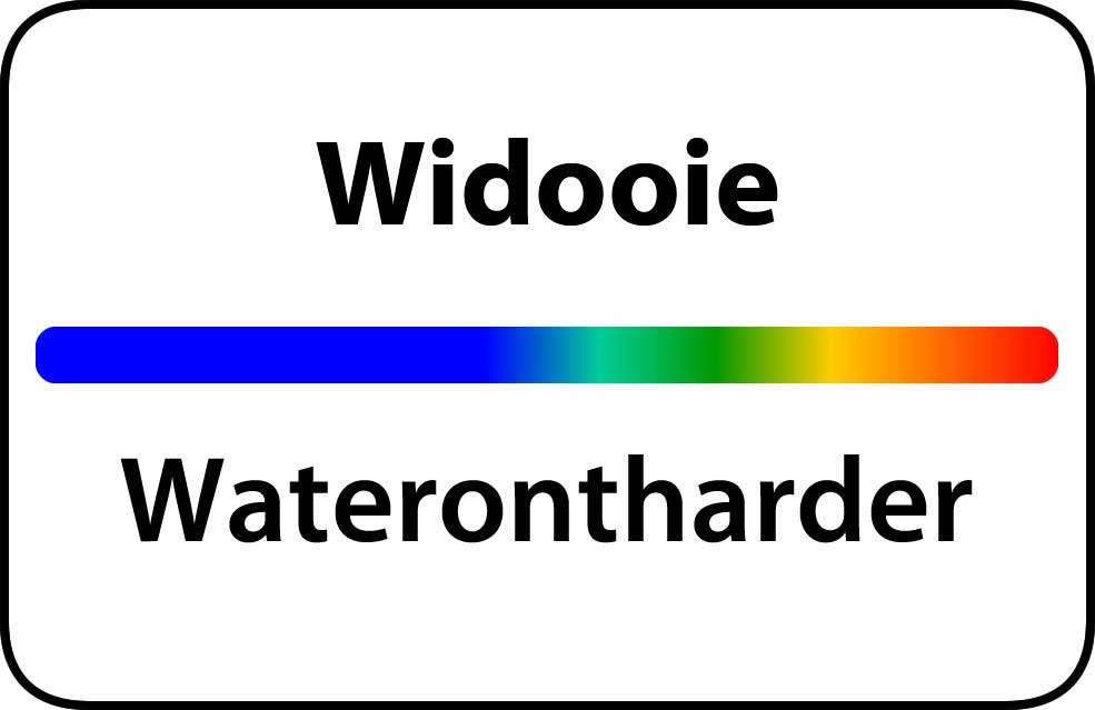 Waterontharder Widooie