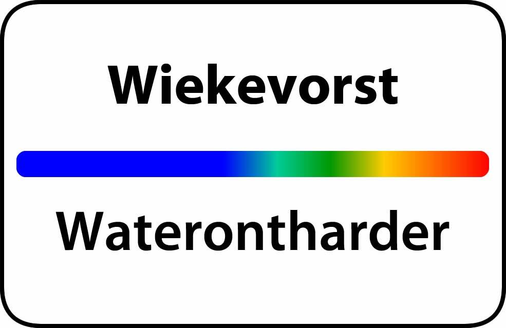 Waterontharder Wiekevorst