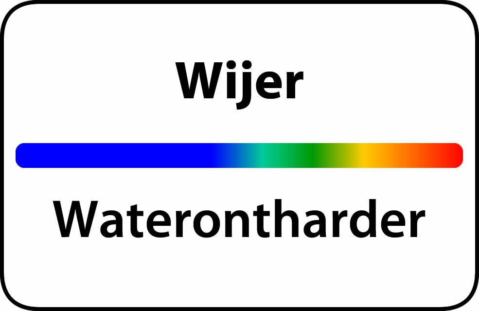 Waterontharder Wijer