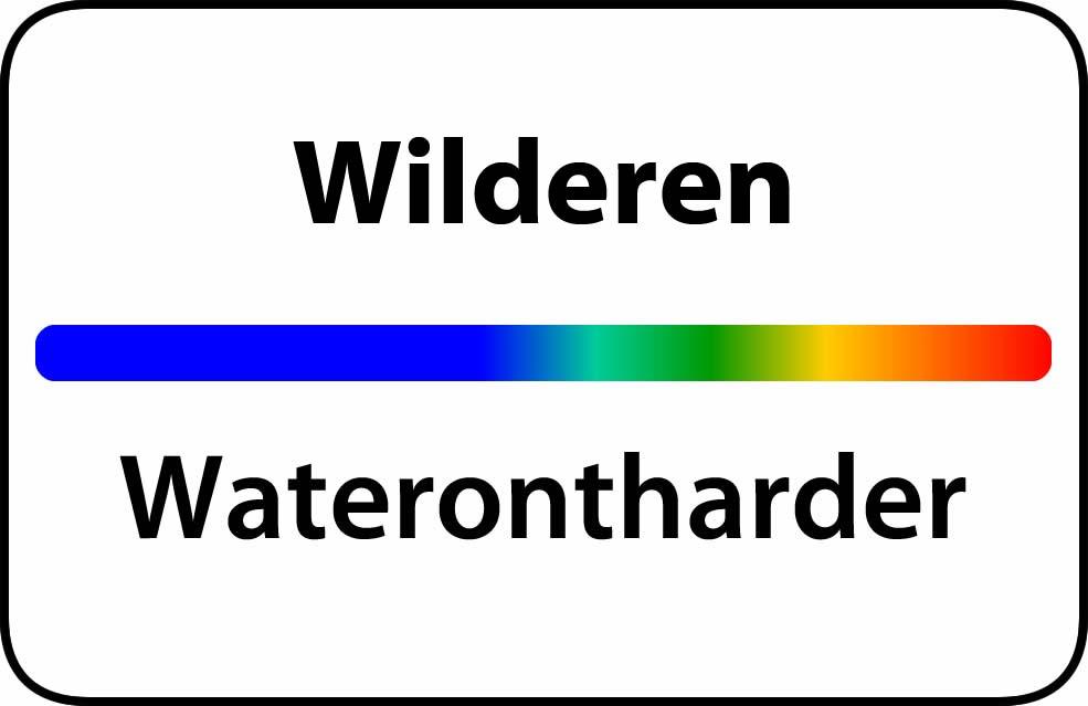 Waterontharder Wilderen