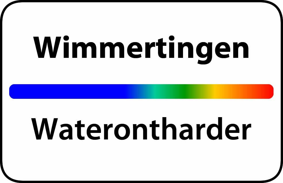 Waterontharder Wimmertingen