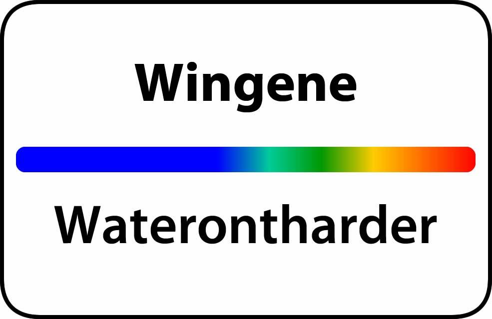 Waterontharder Wingene