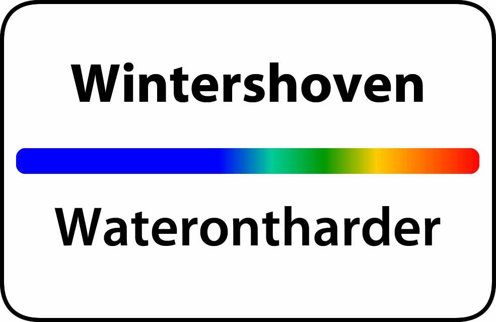 Waterontharder Wintershoven