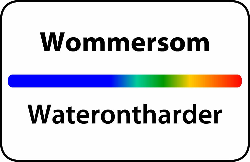 Waterontharder Wommersom