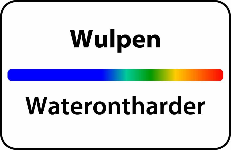 Waterontharder Wulpen