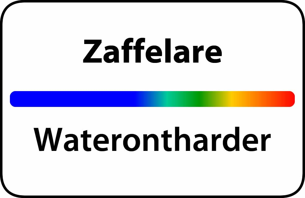 Waterontharder Zaffelare