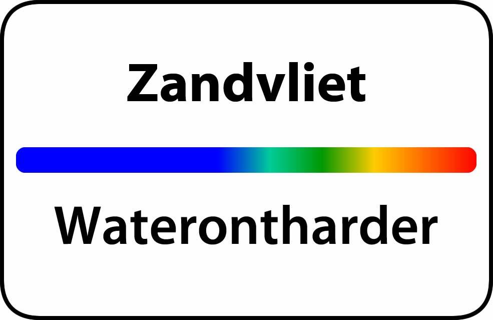 Waterontharder Zandvliet