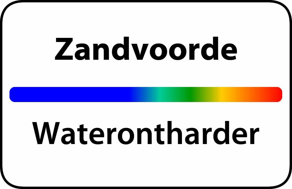 Waterontharder Zandvoorde
