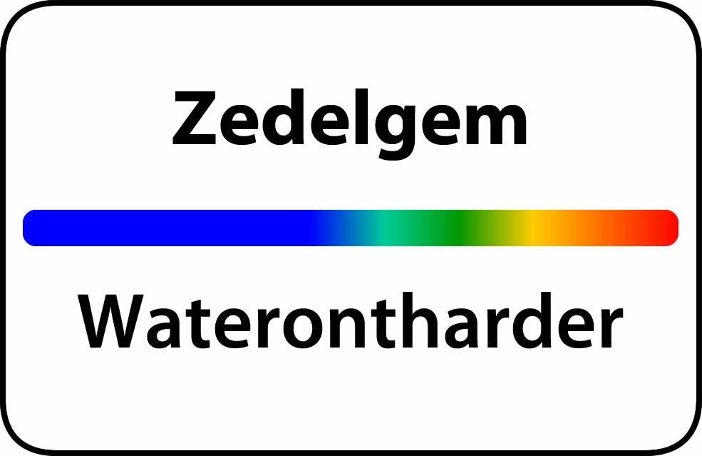Waterontharder Zedelgem