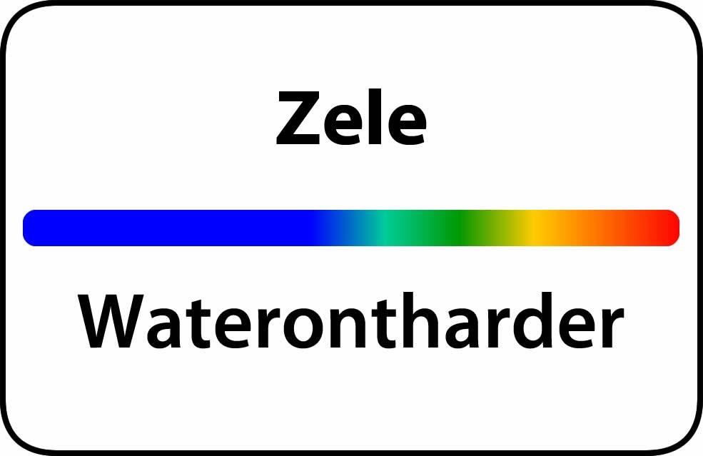 Waterontharder Zele