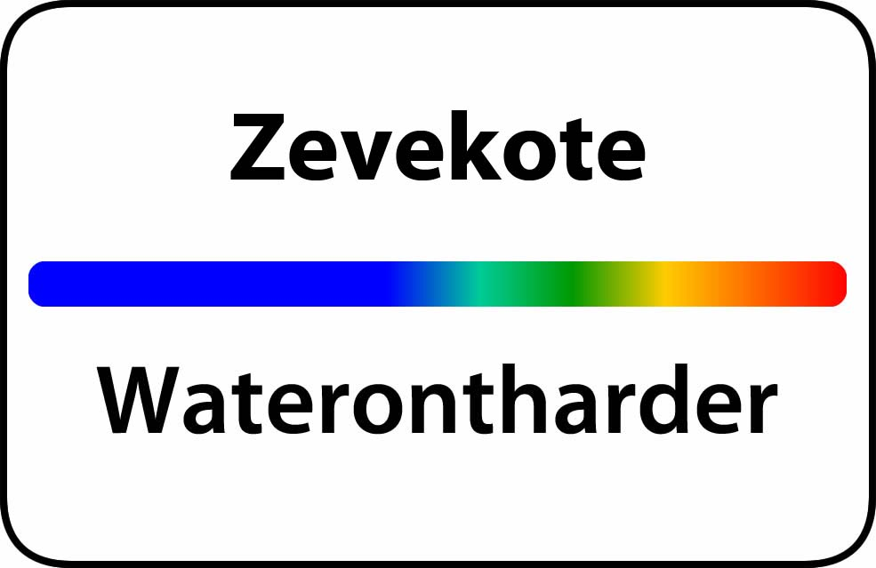 Waterontharder Zevekote