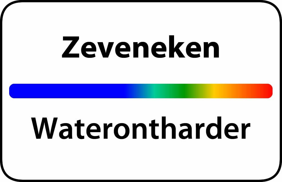 Waterontharder Zeveneken