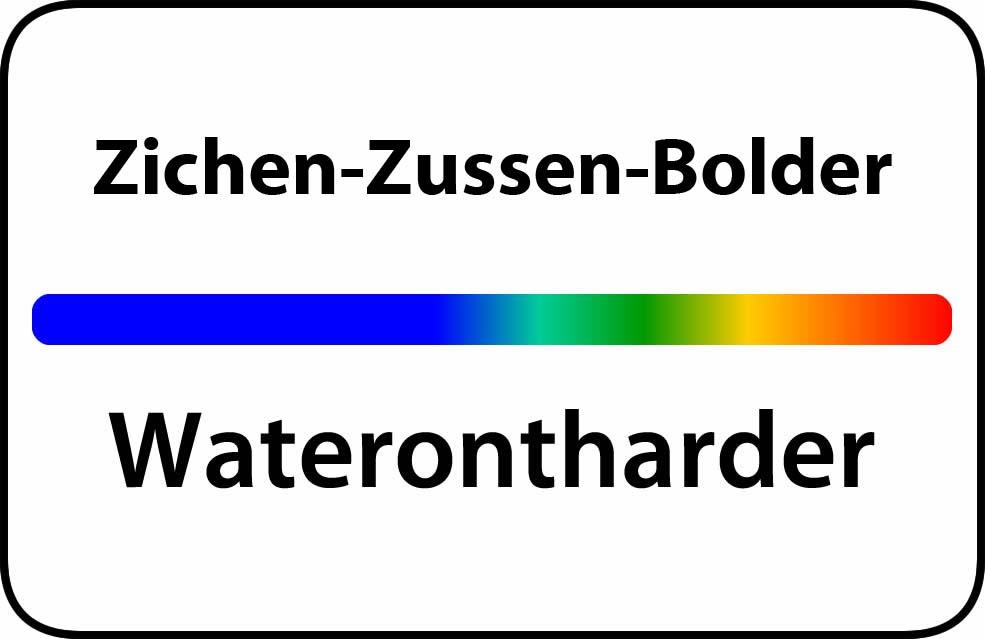 Waterontharder Zichen-Zussen-Bolder