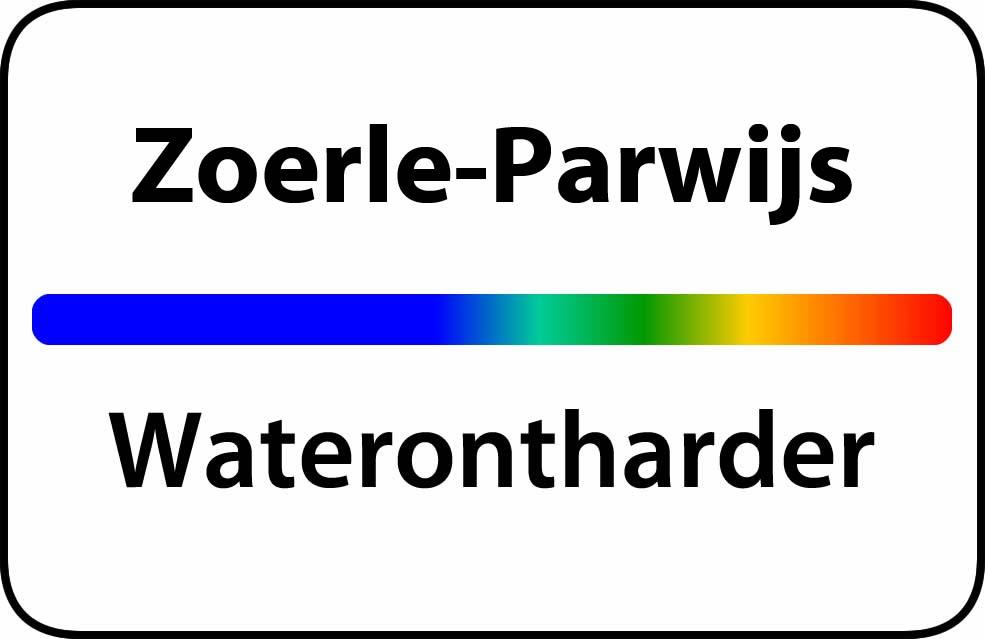 Waterontharder Zoerle-Parwijs