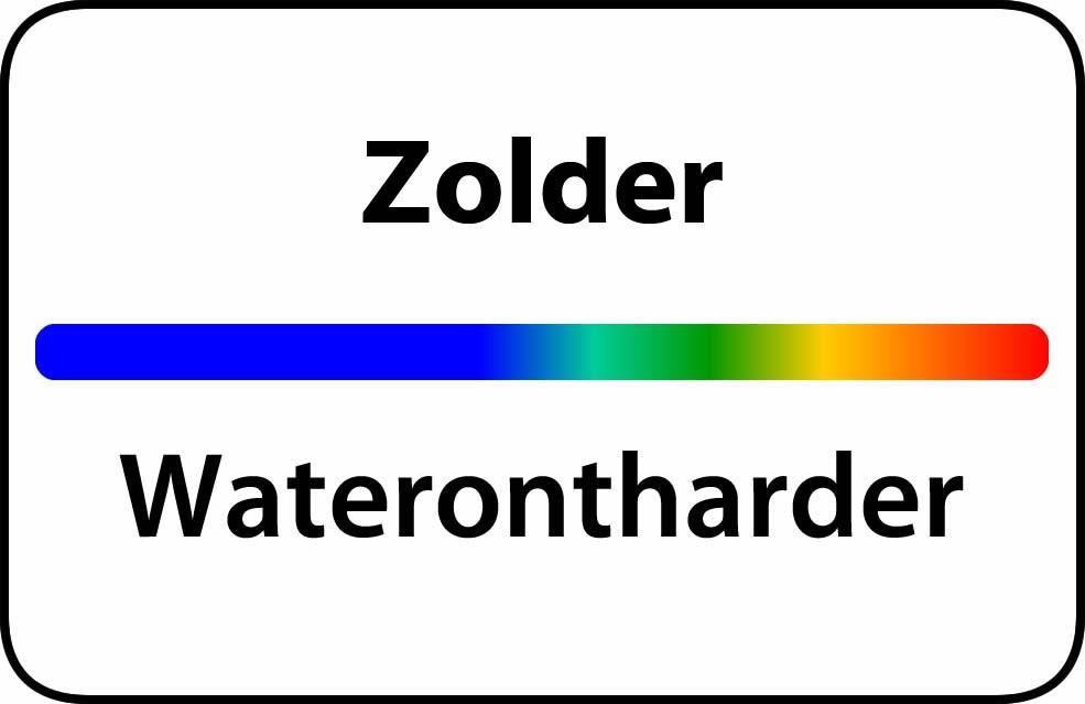 Waterontharder Zolder