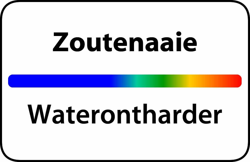 Waterontharder Zoutenaaie