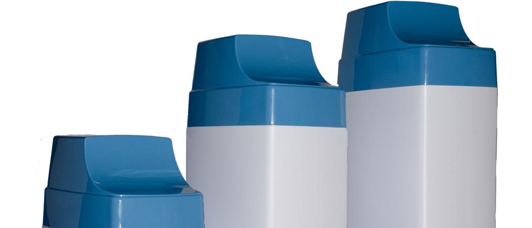 hard water en zacht water met een waterverzachter